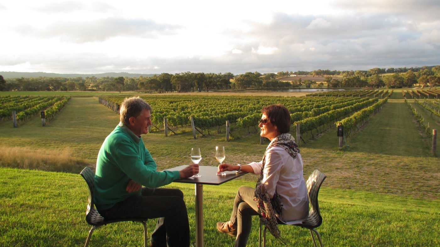 Savina Lane vineyard from the cellar door terrace