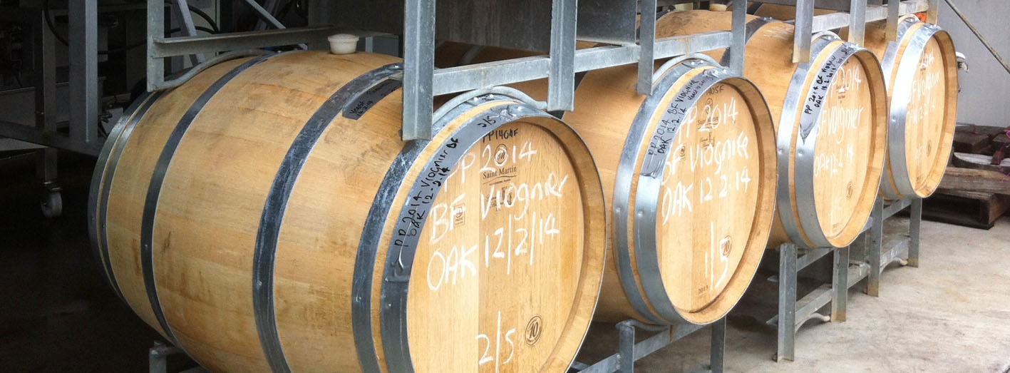 SL Wines barrels